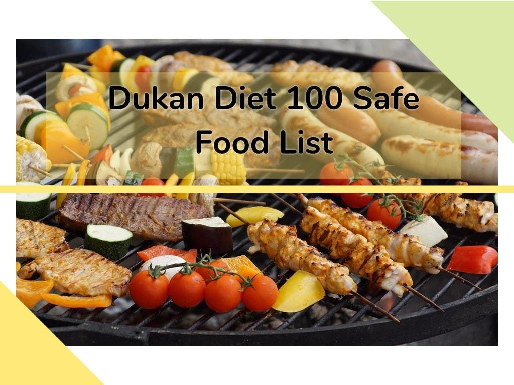 dukan diet allowed food list – my dukan diary