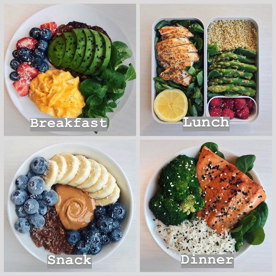 MONTHLY MEAL PLANS AVAILABLE IN OUR BIO!⠀ .⠀ Follow us (@simplyfitsociety) for m…